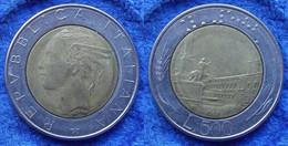 ITALY - 500 Lire 1982 R KM# 111 Bi-metallic - Edelweiss Coins - Unclassified