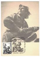 VA127    Greece - Carte Maximum 1982 - Résistance 1941/44 - Maximumkaarten