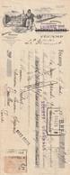 FECAMP  Salaisons Morues LHOMMET ( Mandat 1923 Avec Timbre Fiscal ) - Sin Clasificación