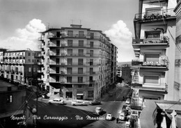 NAPOLI - VOMERO - VIA CARAVAGGIO - VIA MANZONI  Viaggiata 1963 - Napoli (Naples)