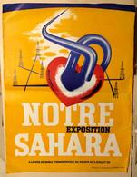 S49-001 Notre Exposition Sahara - A La Mer De Sable D'Ermenonville Du 20 Juin Au 5 Juillet 1959 - Posters