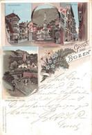 78600- Litho Gruß Aus Bozen Südtirol Italien 1900 - Bolzano (Bozen)