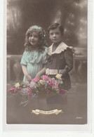 ENFANTS 1399 : Bonne Année  , Fillettes Et Garçon ; édit. Irisa N° 2861 - Andere
