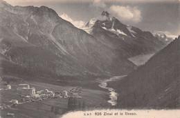 Zinal Et Le Besso - 1906 - VS Wallis