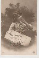 ENFANTS 1406 : Heureuse Fête , Fillette ; édit. Circé N° 5169 - Andere