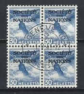 WW-/-905-- . Bloc De 4 Du N° 102a, OBL., COTE 10.00 €, PAPIER GRILLE ,  VOIR IMAGES POUR DETAILS - Officials