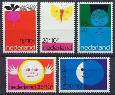 Nederland 1971 NVPH Nr 996/1000 Postfris/MNH Kinderpostzegels, Children's Stamps - Ungebraucht