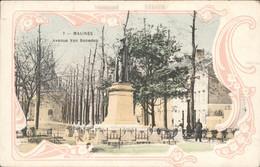 België - Malines Mechelen - Avenue Van Beneden - 1912 - Zonder Classificatie