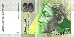 SLOVAQUIE 1993 20 Couronne - P.20a  Neuf UNC - Slovakia