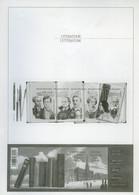 België B111 MV - Literatuur - Verlaine - Baudelaire - Multatuli - Bronté - 2010 - Opl.: 60 Ex - Zeldzaam - Rare - Ministerial Panes