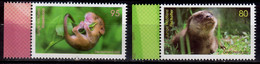 2020 Germany Baby Animals Tierbabys  MNH** MiNr. 3562 - 3563 Hazel Dormouse Eurasian Otter - Ongebruikt