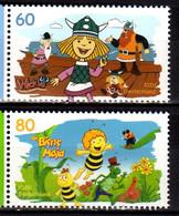 2020 Germany Heroes Of Our Childhood II Wickie And Biene Maja (Bee) Set MNH** MiNr. 3576 - 3577 Comis Cartoon - Ongebruikt