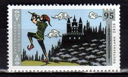 2020 Germany Sagenhaftes Deutschland II Rattenfänger V Hameln Pied Paper Of Hameln MNH** MiNr. 3578 Fary Tale - Contes, Fables & Légendes