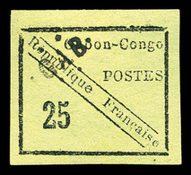 * N°15, 15c Noir Sur Vert. SUP (signé Brun/certificat)  Qualité: *  Cote: 1500 Euros - Unused Stamps