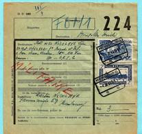Spoorwegdoc, Afst. HOMBOURG 04/12/1951 Naar BPS 6 / CANTONS DE L'EST - OOSTKANTONS - 1942-1951