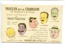 Montmartre Moulin De La Chanson - Kabarett