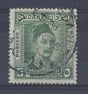 "SUDAN.....KING GEARGE V...(.1910-36..)....""...1935..""......GORDON......5m.......SG59.......GOOD CDS....VFU.... - Sudan (...-1951)"