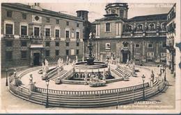 B4298 - Palermo, La Gran Fontana In Piazza Pretoria, Fotografica, Viaggiata 1930, Due Mancanze Nel Bordo - Palermo
