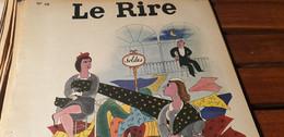 LE RIRE 55 /LUCIEN BOUCHER /DUBOUT /ROLAND BACRI /  GUETARY PAR ROMI /PICHARD /RENE CAILLE - Humour
