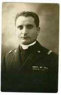 Foto AK 1.WK Soldat Portait Italian Italianischer Chaplain Kaplan Pfarrer Turkey Constantinople - 1914-18