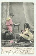 BAMBINI MENTRE GIOCANO 1904 VIAGGIATA FP - Andere