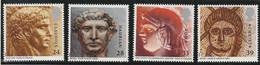 M 602) GB 1993 Mi# 1455-58 **: Römisches Britannien, Münze, Mosaik, Skulptur - Unused Stamps