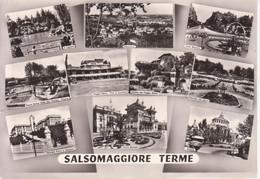 SALSOMAGGIORE TERME - LAGHETTO - PISCINA PARCO GRAND HOTEL DES TERMES - TIRO AL PICCIONE POGGIO DIANA - V 1962 - Otras Ciudades
