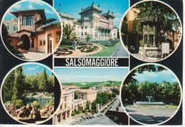 SALSOMAGGIORE TERME - VEDUTINE MULTIVUES - FONTANA - VIAGGIATA 1970 - Other Cities