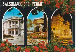 SALSOMAGGIORE TERME - VEDUTINE MULTIVUES - VIAGGIATA 1988 - Otras Ciudades