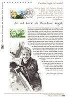 """"""" CAROLINE AIGLE """" Sur Document Philatélique Officiel De 2014. N° YT PA 78a. Parfait état DPO (Faciale = 3.55 €) - 2010-...."""