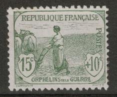 TB TIMBRE N° 150 Avec OBLITERATION TRÈS DISCRÈTE (1ere SÉRIE DES ORPHELINS DE GUERRE - COTE 35€) - Used Stamps