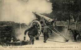 ANVERS Animée (des Derniers Coups De Canon De La Guerre 14-18) WWI WWICOLLECTION - Antwerpen