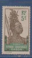GABON       N°  YVERT  52   NEUF AVEC CHARNIERES      (CHAR   01/41 ) - Unused Stamps