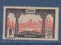 GABON       N°  YVERT  57  NEUF AVEC CHARNIERES      (CHAR   01/41 ) - Unused Stamps