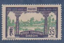 GABON       N°  YVERT  58  NEUF AVEC CHARNIERES      (CHAR   01/41 ) - Unused Stamps