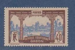 GABON       N°  YVERT  59  NEUF AVEC CHARNIERES      (CHAR   01/41 ) - Unused Stamps