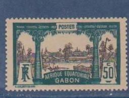 GABON       N°  YVERT  61    NEUF AVEC CHARNIERES      (CHAR   01/41 ) - Unused Stamps