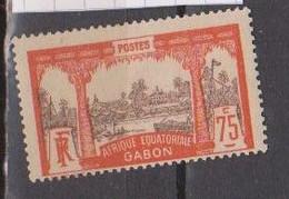 GABON       N°  YVERT  62      NEUF AVEC CHARNIERES      (CHAR   01/41 ) - Unused Stamps