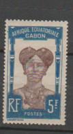 GABON       N°  YVERT  65    NEUF AVEC CHARNIERES      (CHAR   01/41 ) - Unused Stamps