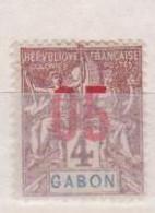 GABON       N°  YVERT  67    NEUF AVEC CHARNIERES      (CHAR   01/41 ) - Unused Stamps