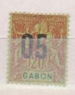 GABON       N°  YVERT  69    NEUF AVEC CHARNIERES      (CHAR   01/41 ) - Unused Stamps