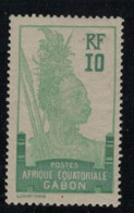 GABON       N°  YVERT  83    NEUF AVEC CHARNIERES      (CHAR   01/43 ) - Unused Stamps