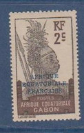 GABON       N°  YVERT  89    NEUF AVEC CHARNIERES      (CHAR   01/43 ) - Unused Stamps