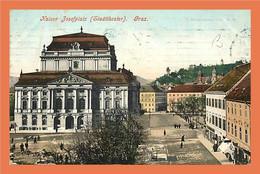 A442 / 035 GRAZ Kaiser Josefplatz ( Timbre - Cachet ) - Unclassified