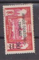 GABON       N°  YVERT  110    NEUF AVEC CHARNIERES      (CHAR   01/43 ) - Unused Stamps