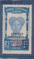 GABON       N°  YVERT  111    NEUF AVEC CHARNIERES      (CHAR   01/43 ) - Unused Stamps
