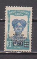 GABON       N°  YVERT  112    NEUF AVEC CHARNIERES      (CHAR   01/44 ) - Unused Stamps