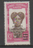 GABON       N°  YVERT  113    NEUF AVEC CHARNIERES      (CHAR   01/44 ) - Unused Stamps