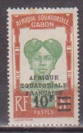 GABON       N°  YVERT  114   NEUF AVEC CHARNIERES      (CHAR   01/44 ) - Unused Stamps