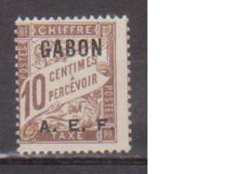 GABON       N°  YVERT  TAXE 2  NEUF AVEC CHARNIERES      (CHAR   01/44 ) - Unused Stamps